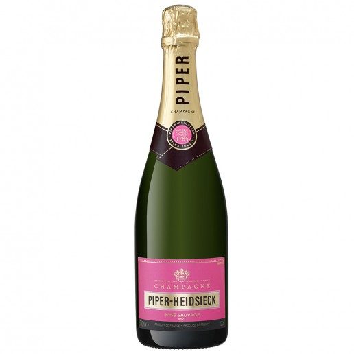 PIPER HEIDSIECK ROSE SAUVAGE BRUT IN GB