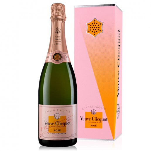 VEUVE CLICQUOT BRUT ROSE CLIQC-CALL LIMITED EDITION