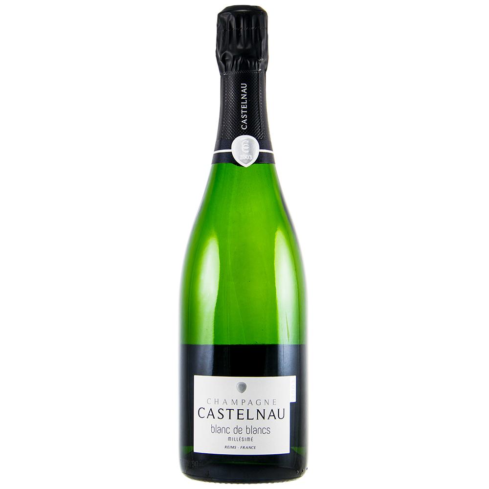 Champagne Castelnau Blanc de Blancs Milléssimé