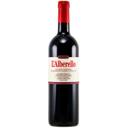 Grattamacco L'Alberello Bolgheri Superiore Rosso DOC