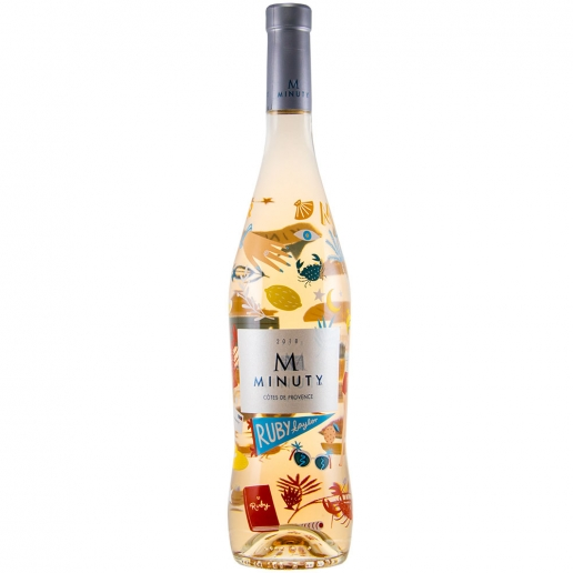 Minuty Cuvee M Rose Limited Edition by Ruby Taylor