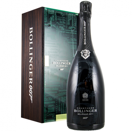 Bollinger Millésimé 2011 Limited Edition James Bond 007