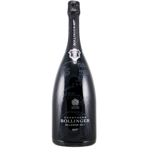 Bollinger Millésimé 2011 Limited Edition James Bond 007 Magnum