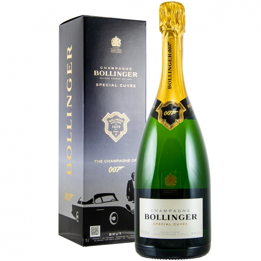 Bollinger Special Cuvee Brut 007 in Etui Limited Edition